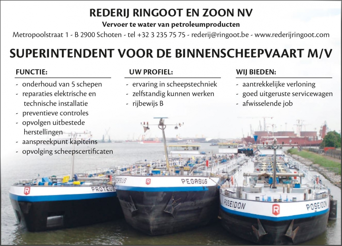 Ringoot vacature superintendent